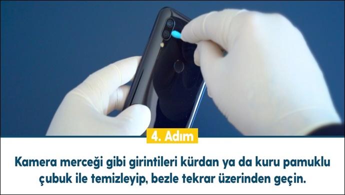 Cep telefonu ve tabletleri hijyenik tutma rehberi