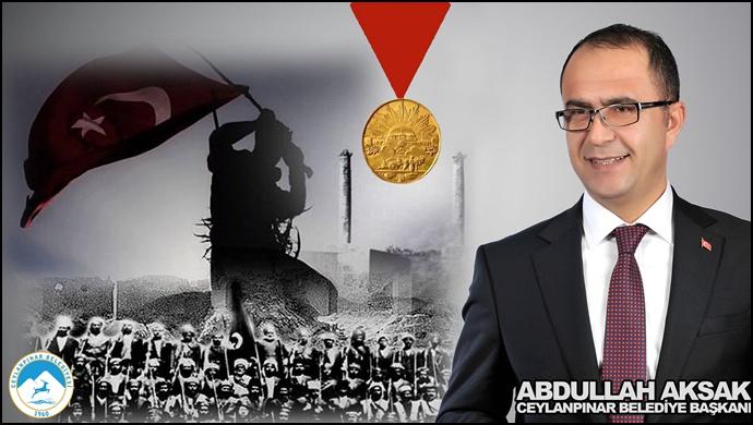 Ceylanpınar Belediye Başkanı Aksak'tan '11 Nisan Mesajı'