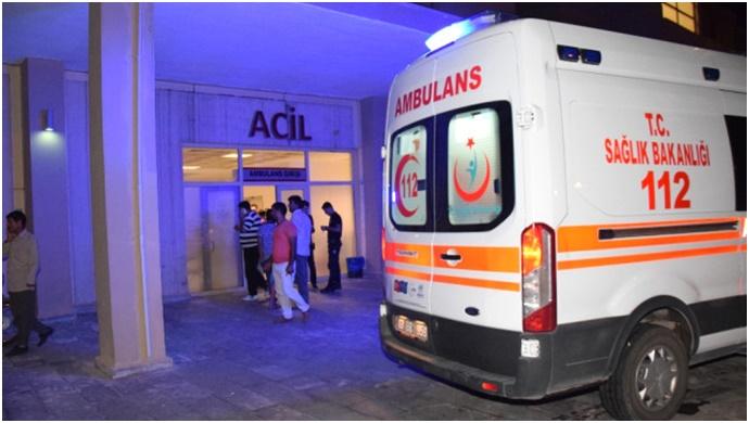 Ceylanpınar'da feci kaza: Yaralılar var