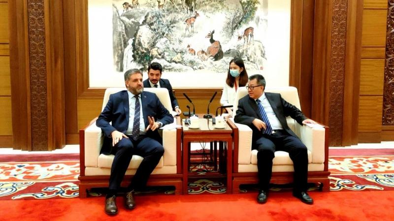 ÇHC Pekin Büyükelçimiz Önen'den Çin Ulusal Müzesine ziyaret