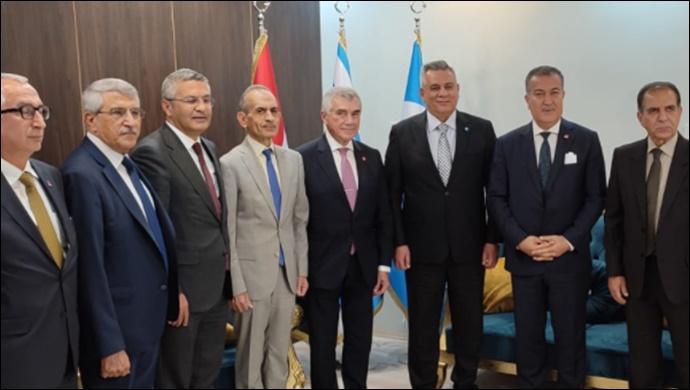 CHP heyeti Irak Türkmen cephesi ile görüştü