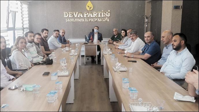 CHP heyetinden DEVA Partisi'ne ziyaret