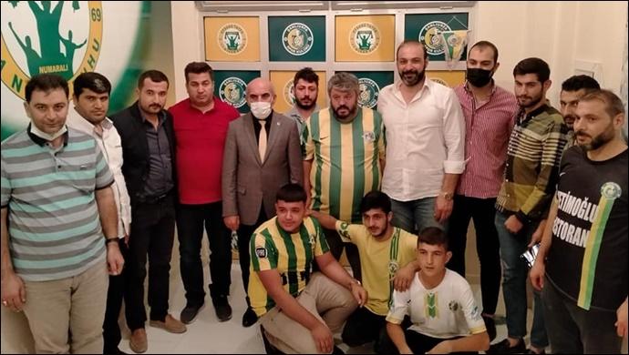 CHP İl Başkanı Cidir, Taraftarlar Derneğinin Açılışına Katıldı