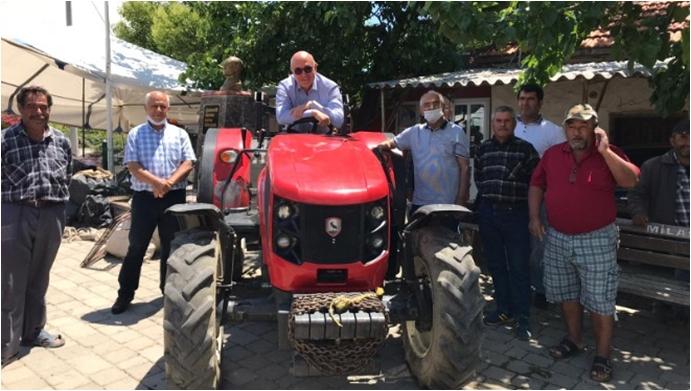 CHP'den Traktör Haczini Durdurucak Teklif