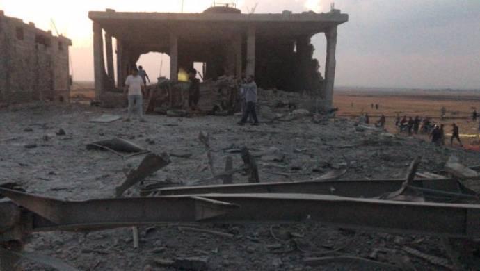 Çobanbey'de bombalı saldırı: 12 ölü