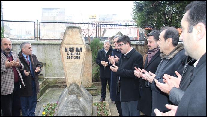 Coşkun: Bir gönül ve eylem adamı Mehmet Akif İnan'ı rahmetle anıyoruz