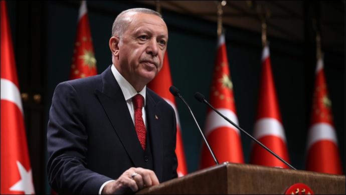 Cumhurbaşkanı Erdoğan, Gaziantep'te toplu fabrika açılış törenine katıldı