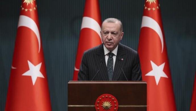 Cumhurbaşkanı Erdoğan: Ramazan'ın ilk 2 haftasında kısmi kapanma uygulanacak
