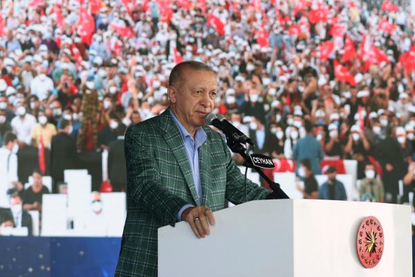 Cumhurbaşkanı Erdoğan 5. Uluslararası Adana Lezzet Festivali açılışına katıldı