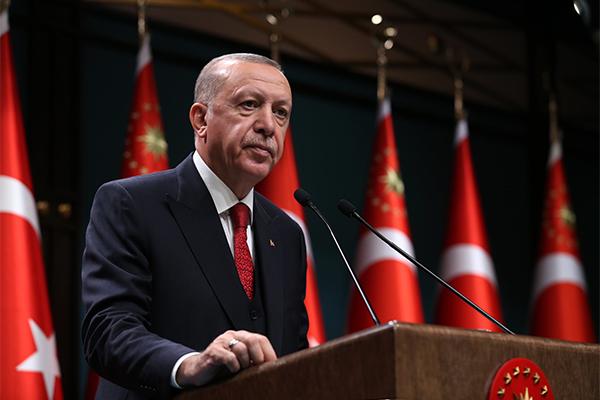 Cumhurbaşkanı Erdoğan, Afganistan konulu G20 Olağanüstü Liderler Zirvesi'ne video konferans ile katıldı