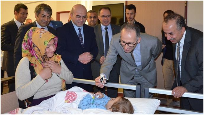 Cumhuriyet Başsavcısı Ünal'dan Harran Tıp'a ziyaret