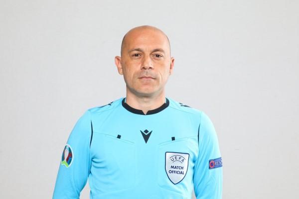 Cüneyt Çakır'a Dünya Kupası elemelerinde görev