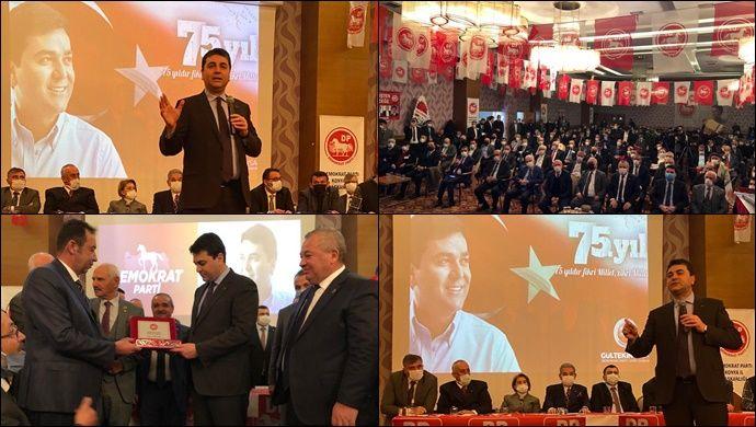 Demokrat Parti'nin 75. Kuruluş Yıldönümü bu yıl Konya'da kutlandı
