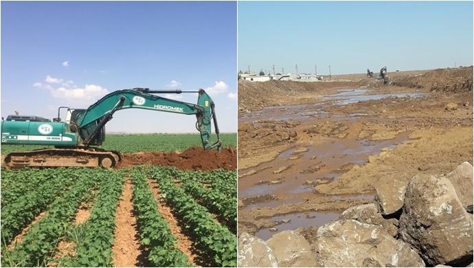 Dere Islah Ve Tahliye Kanalları Çalışmaları Sürüyor