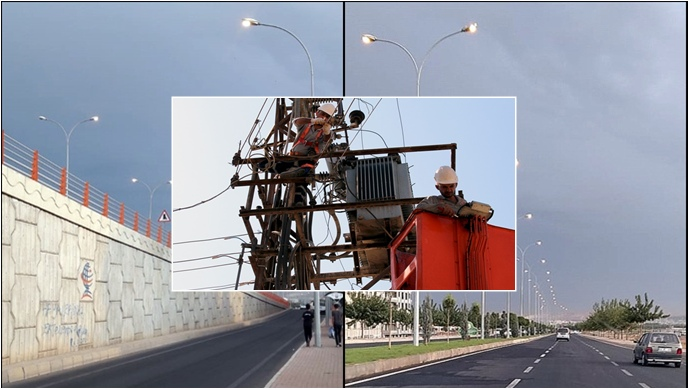 Dicle Elektrik'ten Genel Aydınlatma Denetimi Duyurusu