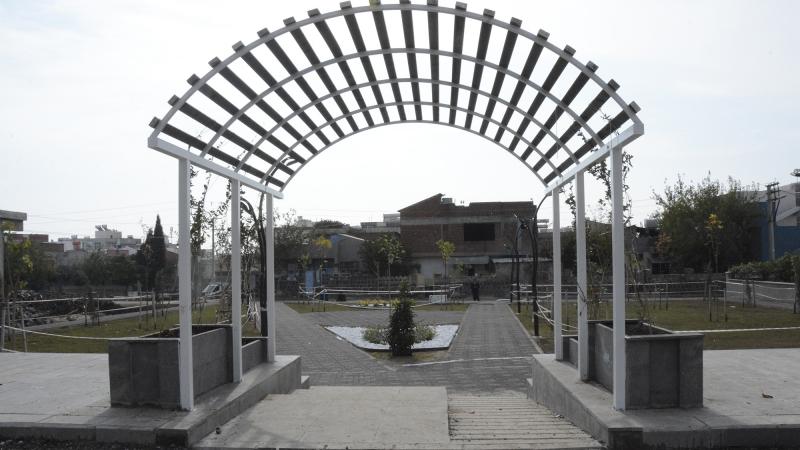 Dicle Mahallesindeki yeni parkın yapımı tamamlandı