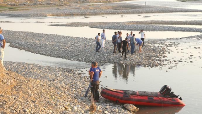 Dicle Nehri'nde bir cenaze bulundu