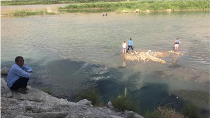 Dicle'de kaybolan genç ölü bulundu