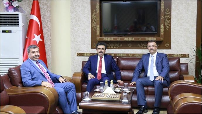 Diyarbakır Valisi Güzeloğlu'ndan Başsavcı Öztoprak'a Ziyaret