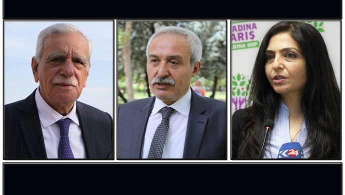 Diyarbakır, Van ve Mardin Büyükşehir Belediye Eşbaşkanları görevden alındı