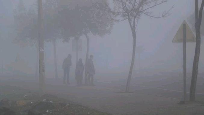 Diyarbakır'da sis etkisi