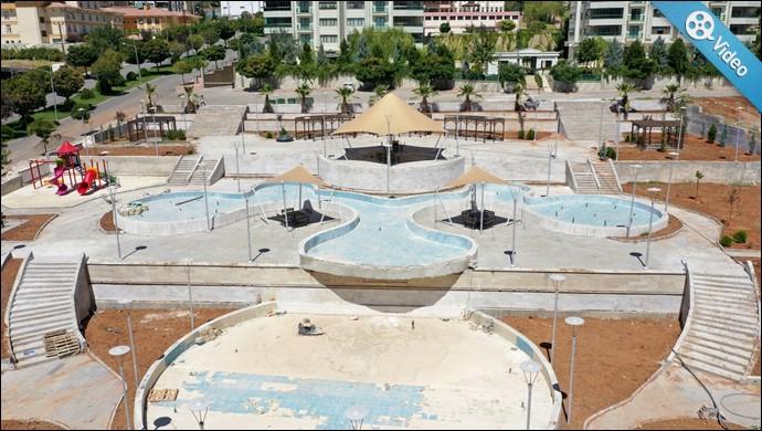 Doğukent'e Yapılan Modern Parkta Sona Doğru