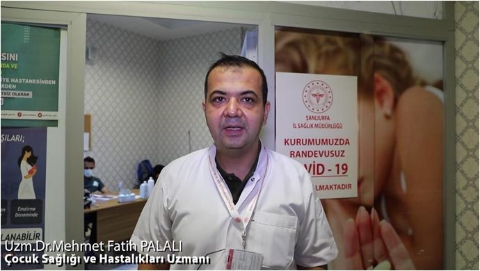 Dr. Palalı'dan Gençlere Aşı Çağrısı!-(VİDEO)