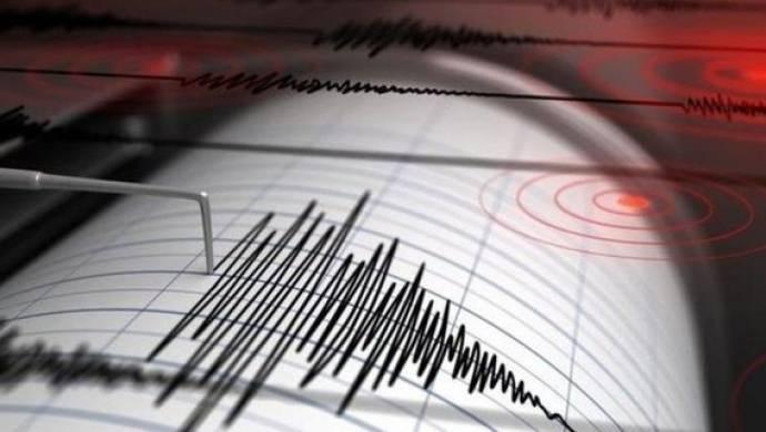 Ege Denizi'nde 4,4 şiddetinde deprem meydana geldi