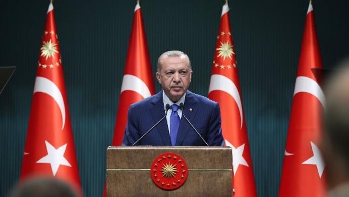 Erdoğan, 2021 yılı Öğretmen Atama Töreni'nde konuştu