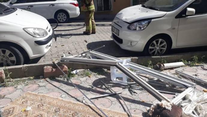 Esenyurt'ta bir binada patlama: 1 yaralı