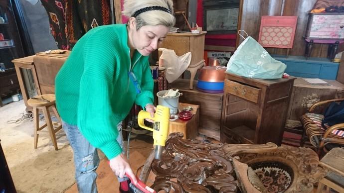 'Eski'yi dönüştüren Saman Pazarı'nın Meltem ustası