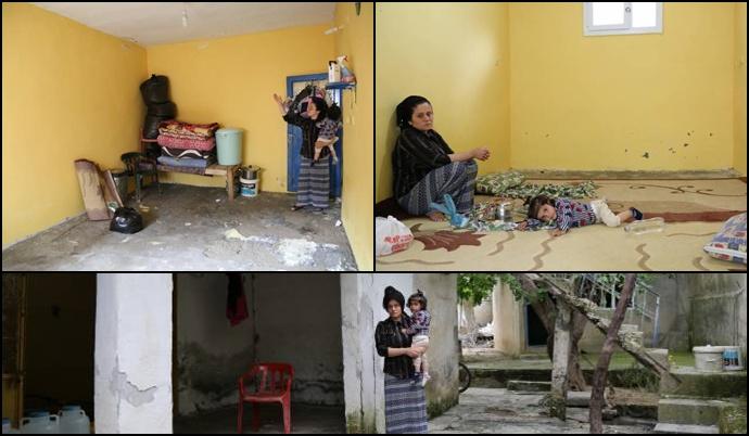 Evleri sel baskınına uğrayan Cizreli aile destek bekliyor