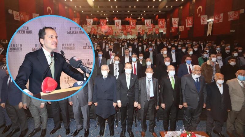 Fatih Erbakan'a Mardin'de Yoğun İlgi