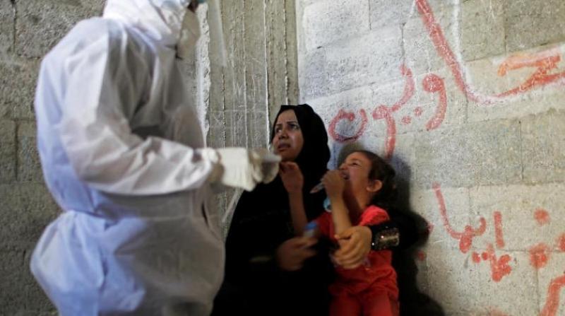 Filistin'de 521 yeni koronavirüs vakası ve 8 ölüm kaydedildi