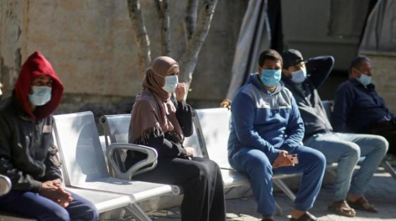 Filistin'de son 24 saatte 660 yeni vaka ve 19 can kaybı kaydedildi