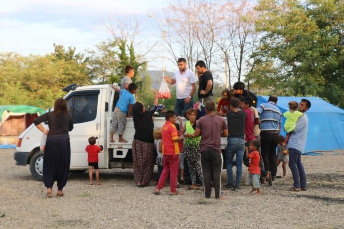 Fındık işçilerinin koşulları koronaya davet çıkarıyor