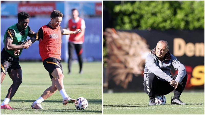 Galatasaray,  Denizlispor maçına hazırlanıyor!