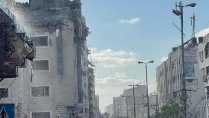 Gazze'deki Kızılay binası bombalandı