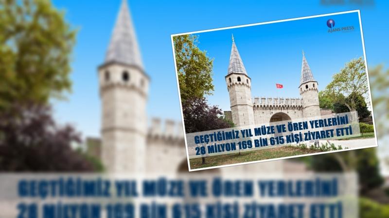 Geçtiğimiz Yıl Müze ve Ören Yerlerini 28 Milyon 169 Bin 615 Kişi Ziyaret Etti