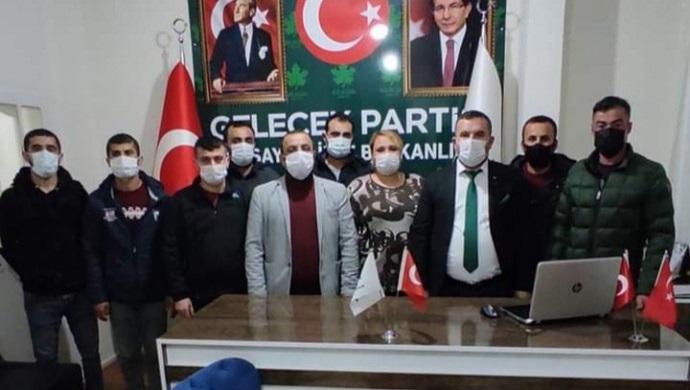 Gelecek Partisi Nusaybin yönetimi istifa etti