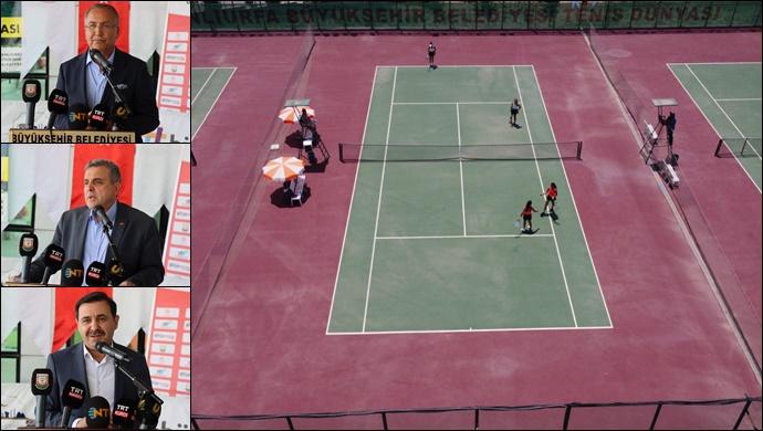 Göbeklitepe CUP Tenis Turnuvası Sona Erdi-(VİDEO)