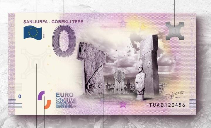Göbeklitepe, Euro'nun üzerinde