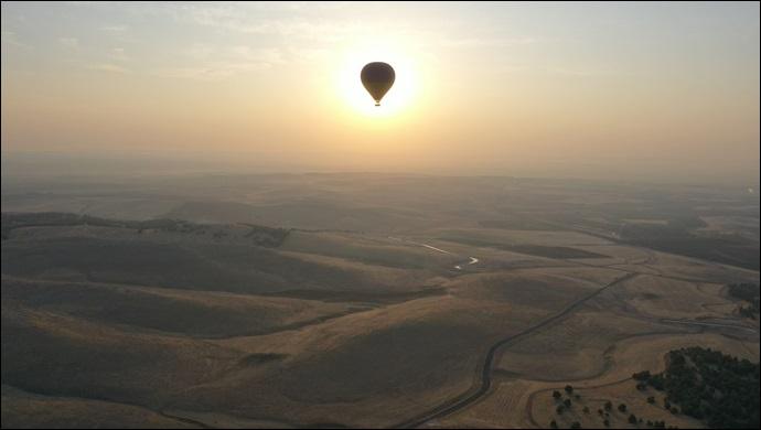 Göbeklitepe'de Balon Turizmi Başlıyor-(VİDEO)