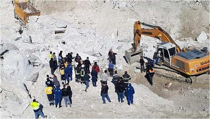 Göçük altında kalan 1 işçi yaşamını yitirdi