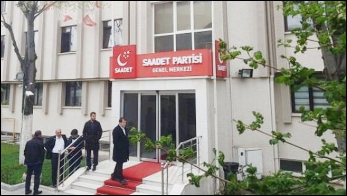 Haciz işlemi başlatılan SP genel merkez binası boşaltılıyor