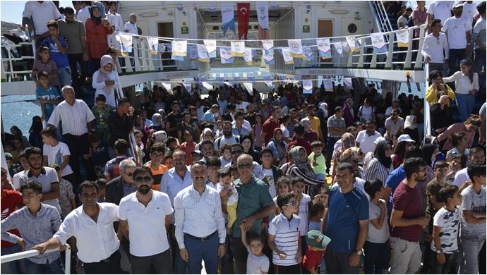Haftanın 6 günü Takoran Vadisi'ne tekne turu yapılacak
