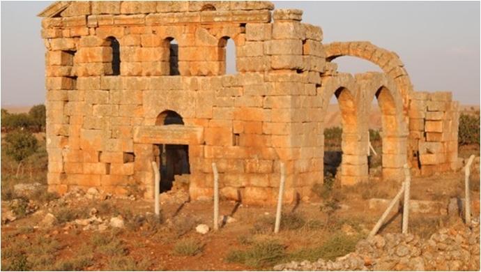 Halfeti'-Bin 500 yıllık Nuhrut Kilisesi yıkım tehdidi altında