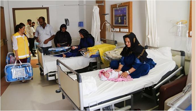 Haliliye Belediyesi, Bebeklerin İlk İhtiyacını Karşılamayı Sürdürüyor
