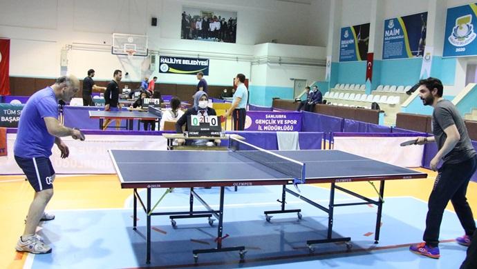 Haliliye Belediyesi Masa Tenisi Ligi Başladı-(VİDEO)
