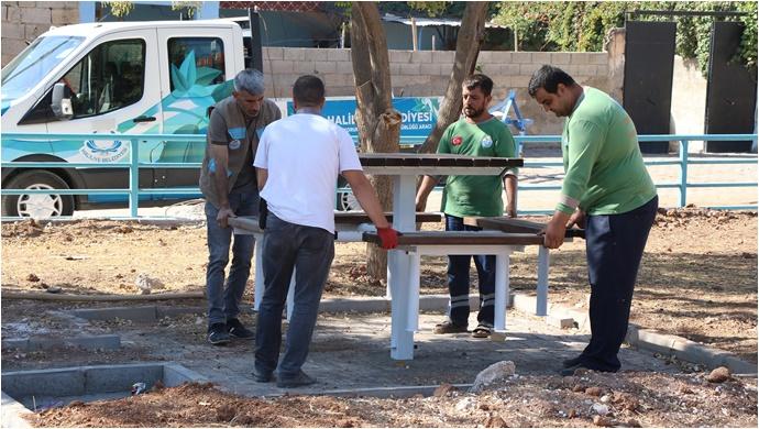 Haliliye Belediyesinden Yeni Park Çalışması-(VİDEO)